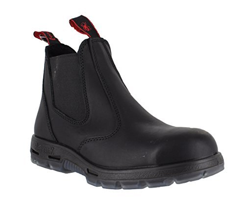 redback-usbok-usbbk-da-uomo-in-pelle-chelsea-sicurezza-scarpe-con-punta-in-acciaio-nero-black-44