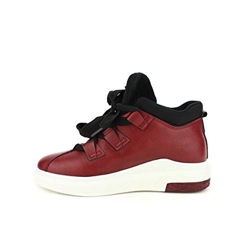 Cendriyon Basket Bordeaux Simili BELLOS Chaussures Femme Bordeaux
