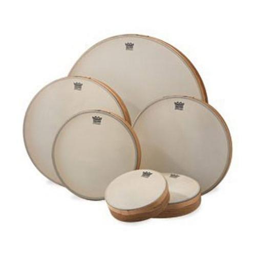 REMO Frame Drum Renaissance 14', Rahmentrommel, Pretuned, Handtrommel für Drum Circle