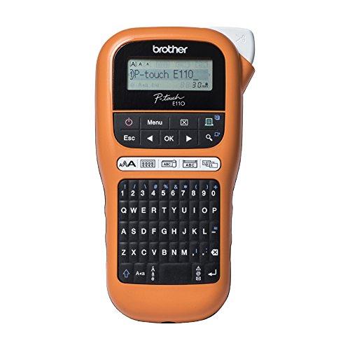 Brother pte110vp-etichette Elettroniche professionale ideale per elettricisti E installatori