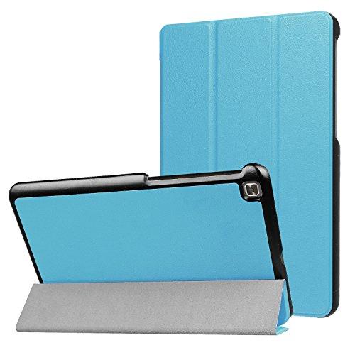LG G Pad IV 8.0/G Pad X28.0FHD Fall, ratesell Slim Fit Haltbar Premium Leder Folio Schutzhülle für LG G Pad IV 8.0/V533(Kanada), GPAD X28.0Plus (T-Mobile) Tablet, Babyblau