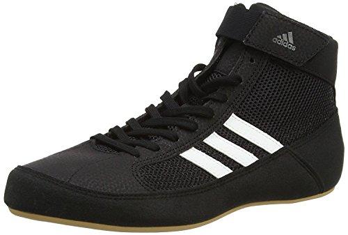 adidas Herren Havoc Multisport Indoor Schuhe, Schwarz (Black Aq3325), 46 2/3 EU