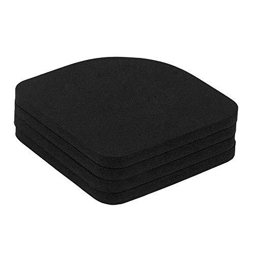 GNSDA 4PCS Lavadora Secadora Almohadillas absorbentes