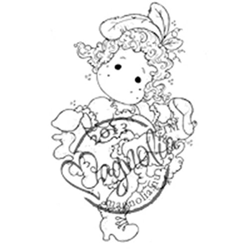 Magnolia Gummi Once Upon A Time selbst Stempel 14 x 3.75-inch Package-Moulin Rouge Tilda