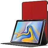 Forefront Cases Samsung Galaxy Tab A 10.5 Hülle | Magnetische Hülle und Ständer für Samsung Galaxy Tab A 10.5 Zoll Tablet-PC SM-T590/T595 | Automatische Schlaf-Wach-Funktion | Dünn Leicht | Rot