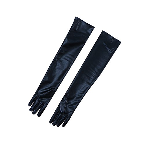 BESTOYARD Lang Lederhandschuhe Handschuhe 1 Paar