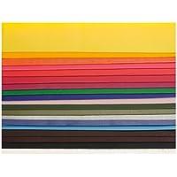 Glorex 68616003verzier Cera placas de colores, 200x 40mm, 20unidades, colores surtidos