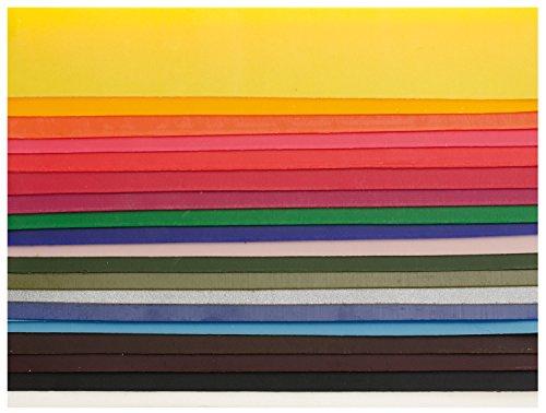 Glorex verzierwachs Set, 20 Stück, bunt, 200 x 40 mm