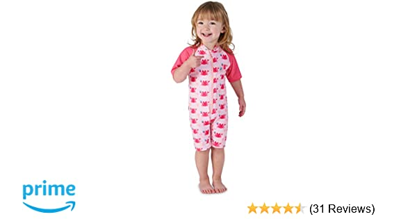 ebd54c431c96 Juicy Bumbles Baby Swimming Costume - Baby Boy Swimming Suit | Baby Girl  Swimsuit | Toddler One Piece Warm Sun Protection UV Swimsuit - 6 Months to  5 Years