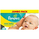 Pampers New Baby Lot de 222 couches Taille 2