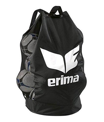 Erima Ballsack für 18 Bälle schwarz/weiß, 0