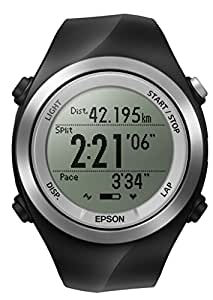 Epson Runsense SF-710S GPS Sports Monitor Smart Watch with Stride Sensor and Tap function