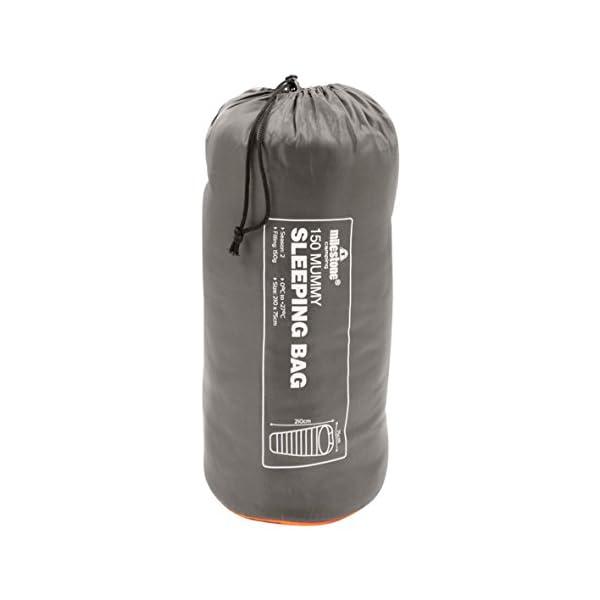 Milestone Camping Mummy Sleeping Bag