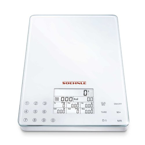 soehnle-food-control-easy-digital-kitchen-diet-scale-electronic-scale-up-to-5kg-5-year-warranty