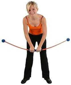 Power Muscle Wing® Schwungstab, orange/blau, 115 cm