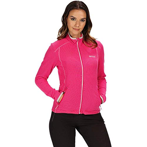 41XrcHHAnyL. SS500  - Regatta Womens Willett Full Zip Lightweight Stretch Grid Fleece
