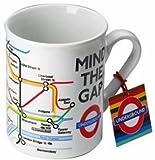 Metro de Londres tubo mapa impreso taza–Transport for London Souvenir