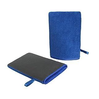 Autocare Auto Waschhandschuhe mit erstklassige Saugkraft Mikrofaser Handschuhe für die Autowäsche