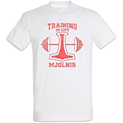 Urban Backwoods Training To Lift Mjolnir T-Shirt Tamaños S – 5XL