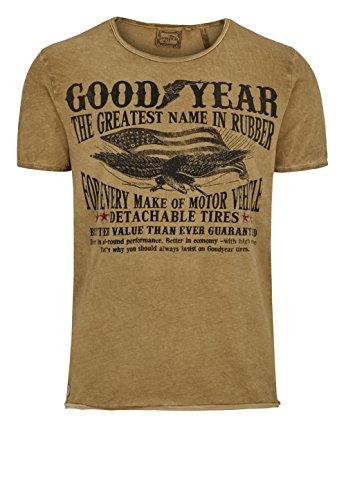 goodyear-herren-t-shirt-marshfield-golden-mustard-l