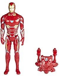 Marvel Titan y Mochila Power Fx Iron Man Hasbro E0606105