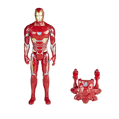 Marvel - Titan y Mochila Power Fx Iron Man (Hasbro E0606105)