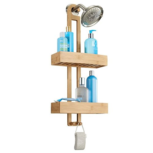 mDesign Shower Shelf for Hanging...