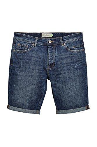 next Uomo Shorts Di Jeans Lavaggio Medio Vestibilità Regular