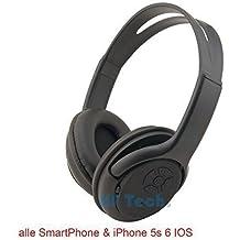 HF Bluetooth Auriculares Stereo Función Manos Libres MP3 SmartPhone Uso Universal apto para Samsung Galaxy S3 S4 Note 1 2 8, HTC One, Nokia, LG, Motorola, Blackberry, Sony, Huawei, iPhone 3 4 4S 5 iPad 2 iPad 3 iPad 4 Mini Laptop, etc.