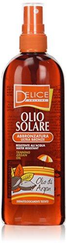huile solaire bronzante all 'huile d'argan spray 150 ml
