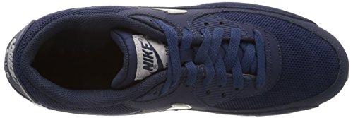 Nike Air Max 90 Essential, Chaussures de Sport Homme Bleu Marine