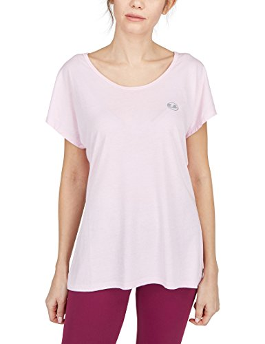 Ultrasport Damen Balance Yoga-Fitness-Shirt, Rosa, XL