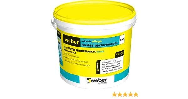 Weber Adhesif Allege Hp 5 Kg Amazon Fr Bricolage
