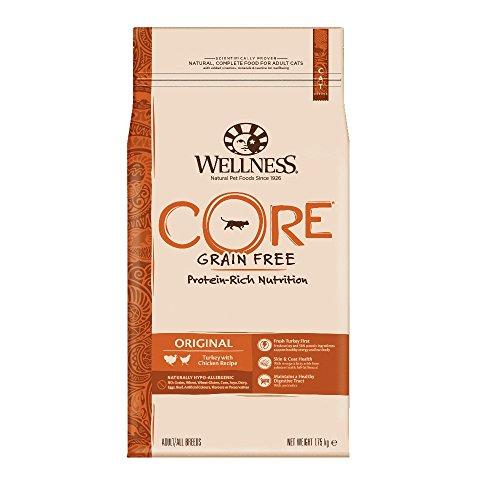 Wellness CORE Original / Katzenfutter Trocken / Getreidefrei / Hoher Fleischanteil / Pute mit Huhn, 1,75 kg