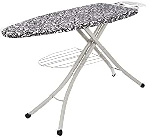 Amazon Brand - Solimo Foldable Ironing Board with Multi Function Tray, Large