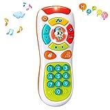 ACTRINIC Multifunktionen,Lichtern und Musik,Klicken und Zählen Fernbedienung,Beste Geschenke für Frühe Pädagogische Baby-Spielzeug für 1-Jährig für Kleinkinder,Jungen und Mädchen