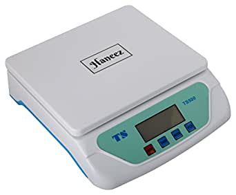 Haneez Electronic Kitchen Digital Adapter Included Weighing Scale Upto 30kg with 1g Accuracy, for Domestic Purposes (White)