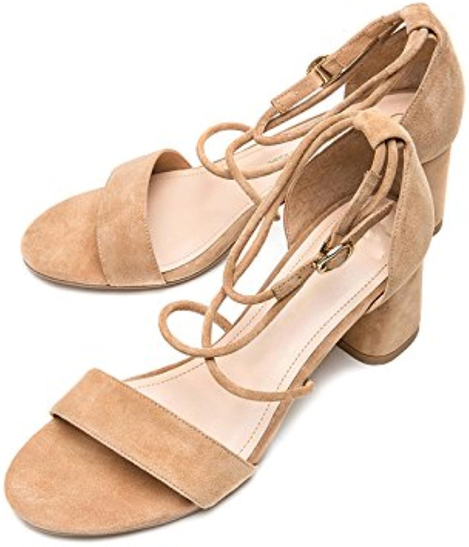 DHG Sandali estivi, Pantofole da donna alla moda, Sandali piatti casual, Sandali con tacco basso a tacco basso... | prezzo di sconto speciale  | Scolaro/Signora Scarpa