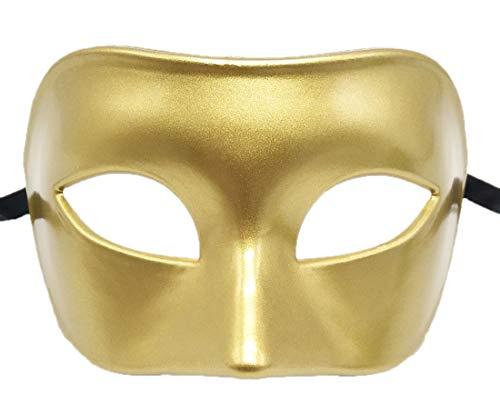 Biruil Herren Maskenmaske, Muskel, Vintage-Stil, Party-Maske, Cosplay-Kostüm, Kostüm, Augenmaske - - (Römische Party Kostüm)