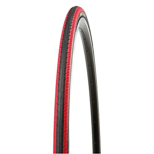 Kenda Kontender K-196 700 x 23c Rennrad Fixie Reifen div. Farben, Farbe:schwarz/rot