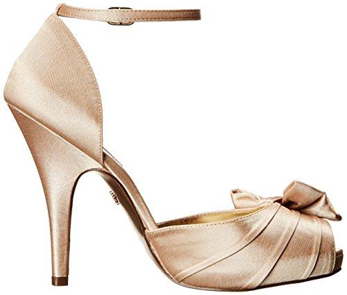 Nina Ella Satin Sandales Gold Royal