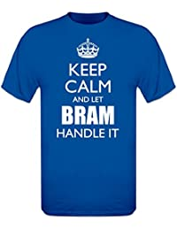 Camiseta Keep Calm And Let BRAM Handle It by Shirtcity