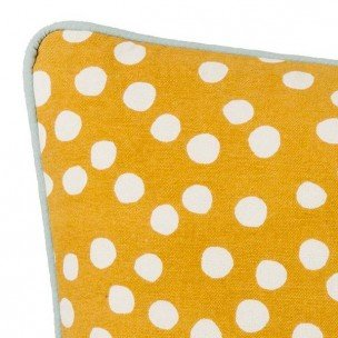 Dots Cushion- Curry - 2