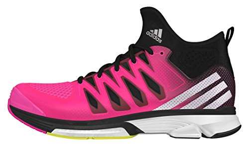 adidas - Volley Response Boost 2 Mid W, Scarpe sportive Unisex – Adulto Rosa (Rosimp / Plamet / Negbas)