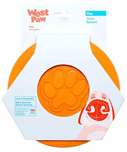 West Paw 27573 Mini Zisc, orange