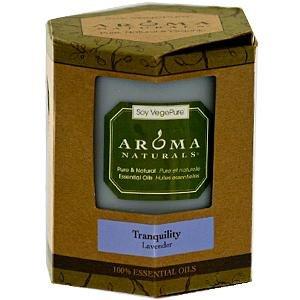 100% Natural Soy Ätherisches Öl Kerze, Beschaulichkeit, Lavendel - Aroma Naturals