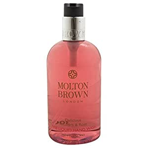 molton brown rhubarb rose hand wash fl ssigseife 1er pack 1 x 300ml beauty. Black Bedroom Furniture Sets. Home Design Ideas