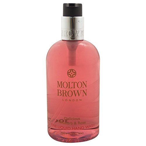 Molton Brown Rhubarb & Rose Hand Wash - Flüssigseife, 1er Pack (1 x 300ml) Twist-torte