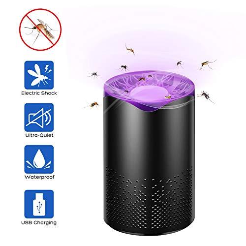 SZSMART Lámpara Antimosquitos, 5W Trampas para Insectos Eléctrico, Protección Repelente contra Insectos, Lámpara de Mosquitos para los Hogares, Patios, Jardines, Oficinas, Tiendas
