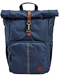67cdf1bddb Timberland Men's 24-Liter Roll Top Backpack (Dark Sapphire)